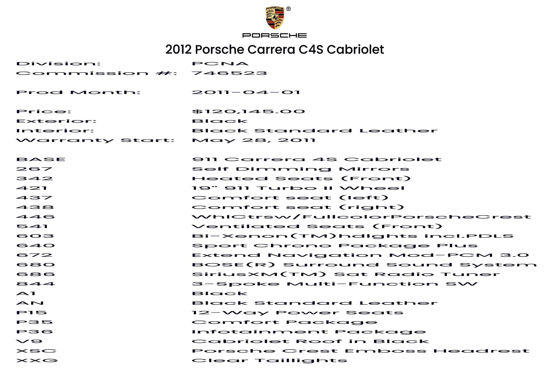 Used 2012 Porsche 911 Carrera 4S | Glen Cove, NY