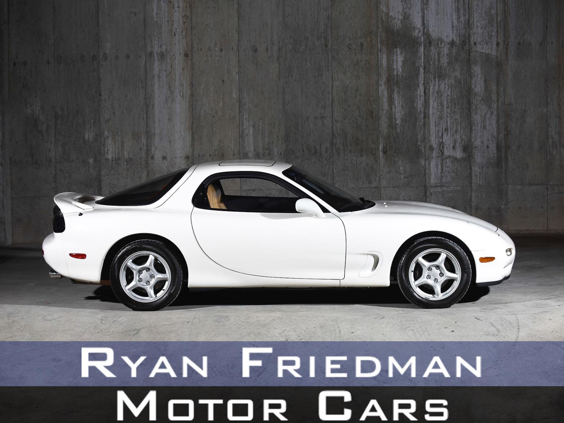 1994 Mazda RX-7 Turbo: 1994 Mazda RX-7 Turbo 12134 Miles White Hatchback R2 1.3L Manual