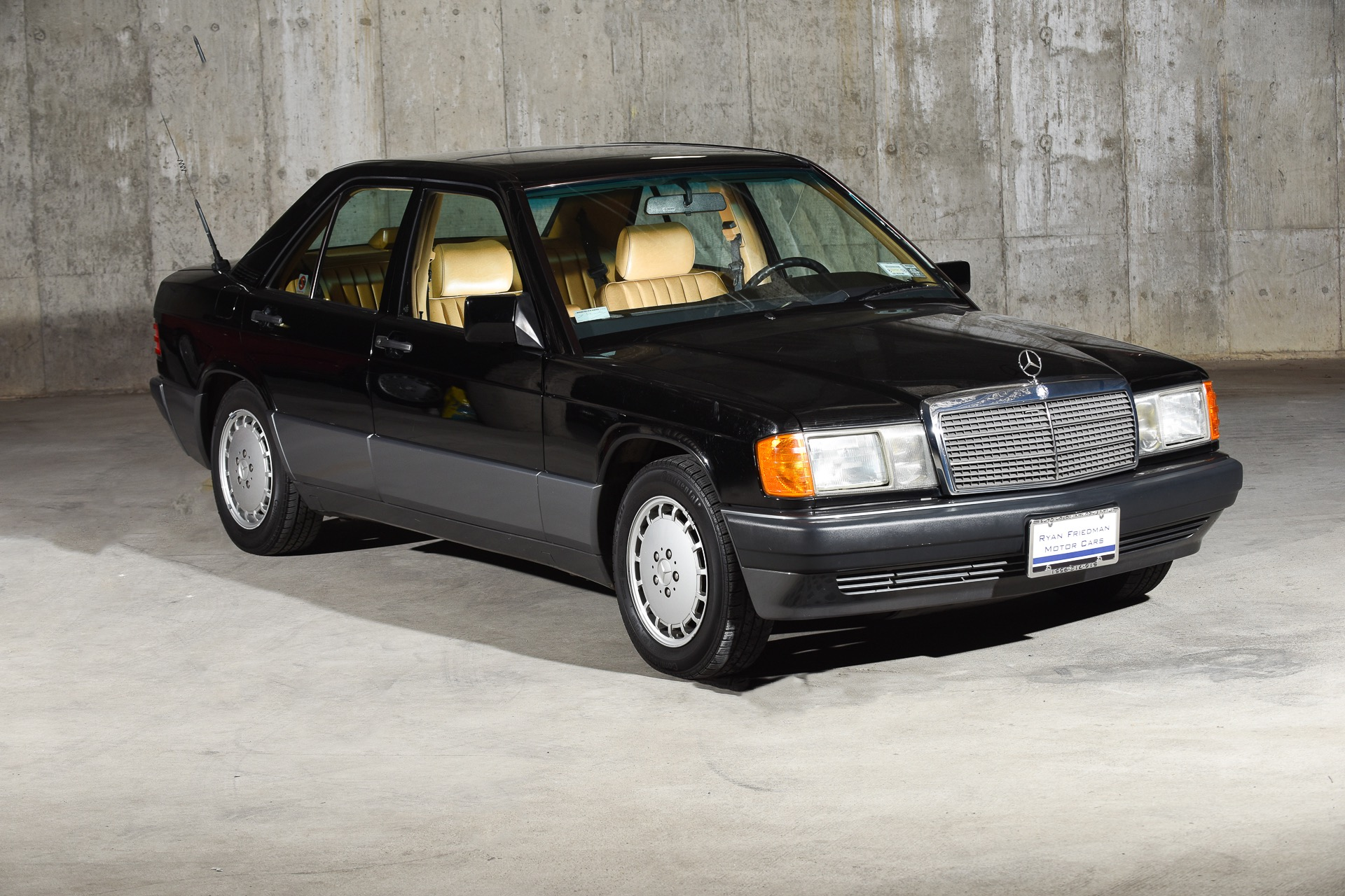 1992 mercedes benz 190 e 190 e 2 6 stock 83 for sale for Mercedes benz text