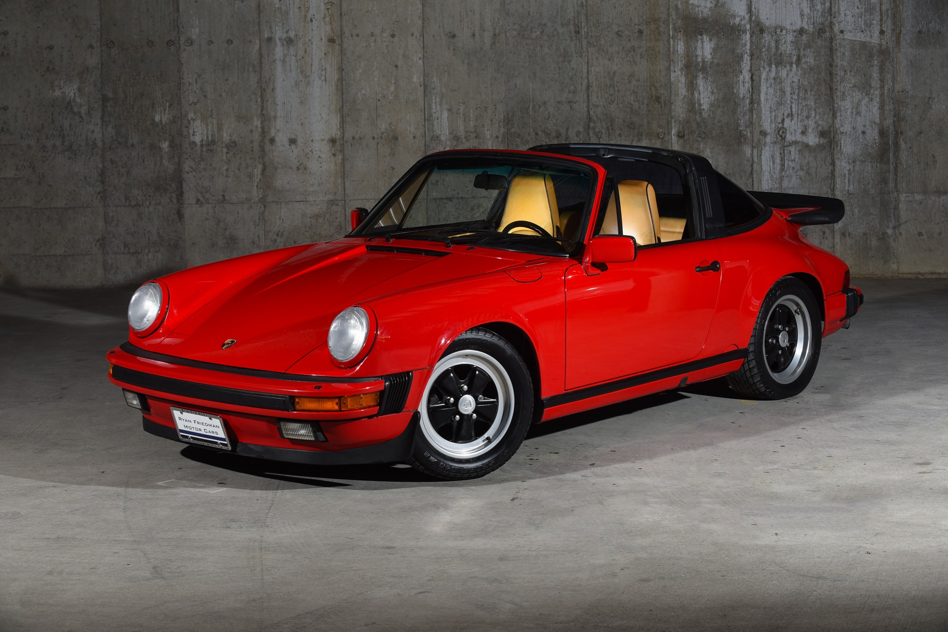 1988 Porsche 911 Targa Carrera Stock 118 For Sale Near
