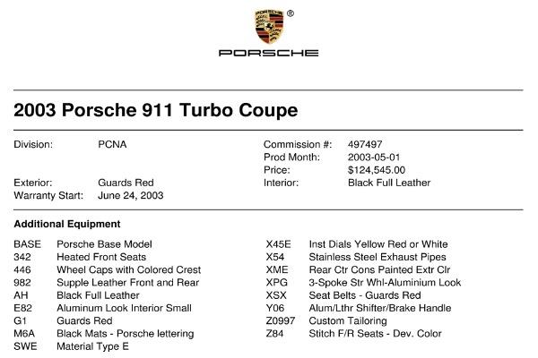 Used 2003 Porsche 911 Turbo | Valley Stream, NY