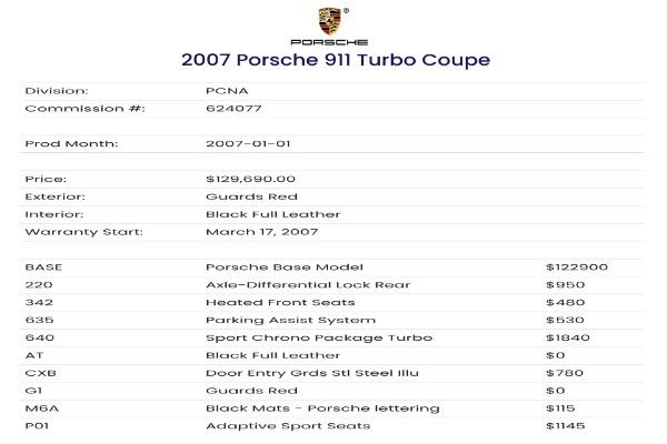 Used 2007 Porsche 911 Turbo | Valley Stream, NY